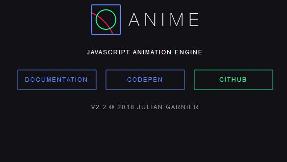 anime.js使得CSS和SVG动画变得更简单