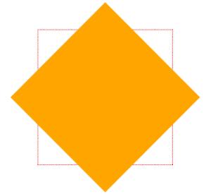 CSS3变形旋转 rotate()