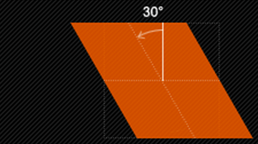 skewX(x)仅使元素在水平方向扭曲变形