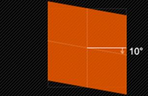 skewY(y)仅使元素在垂直方向扭曲变形