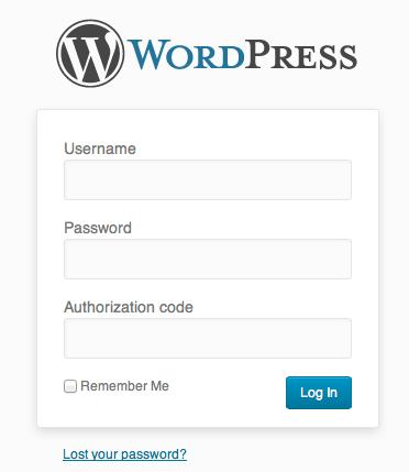 登录后台网址填入设置好的授权码