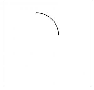 arc顺时针绘制