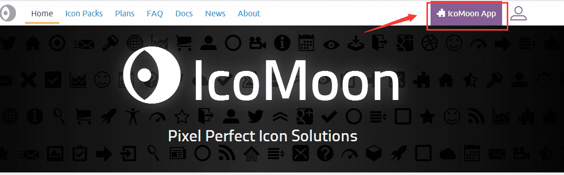 IcoMoon App按钮