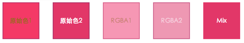 RGB颜色函数-Mix()函数