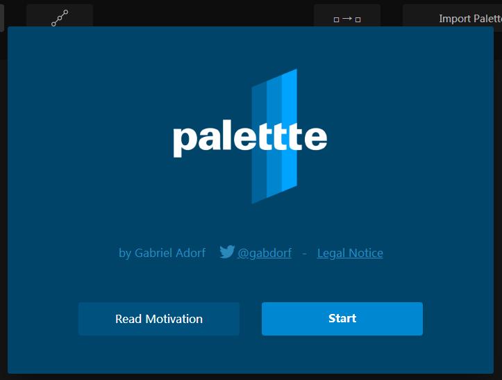palttte是一个色彩编辑和重绘工具