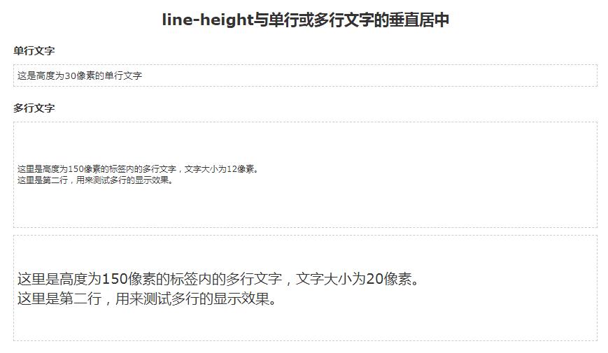 深入理解css行高line-height及其应用