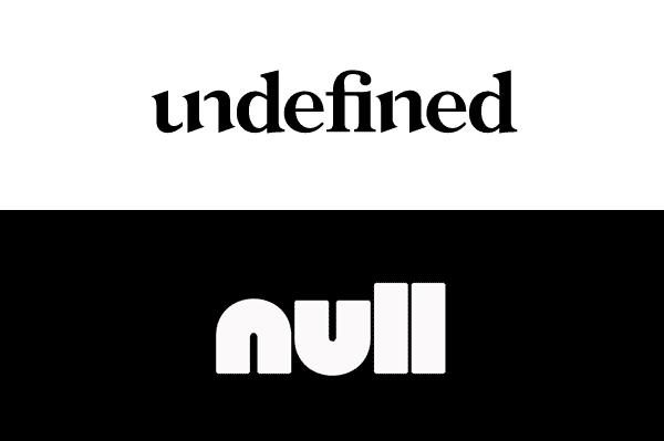 JavaScript 学习 null 和 undefined