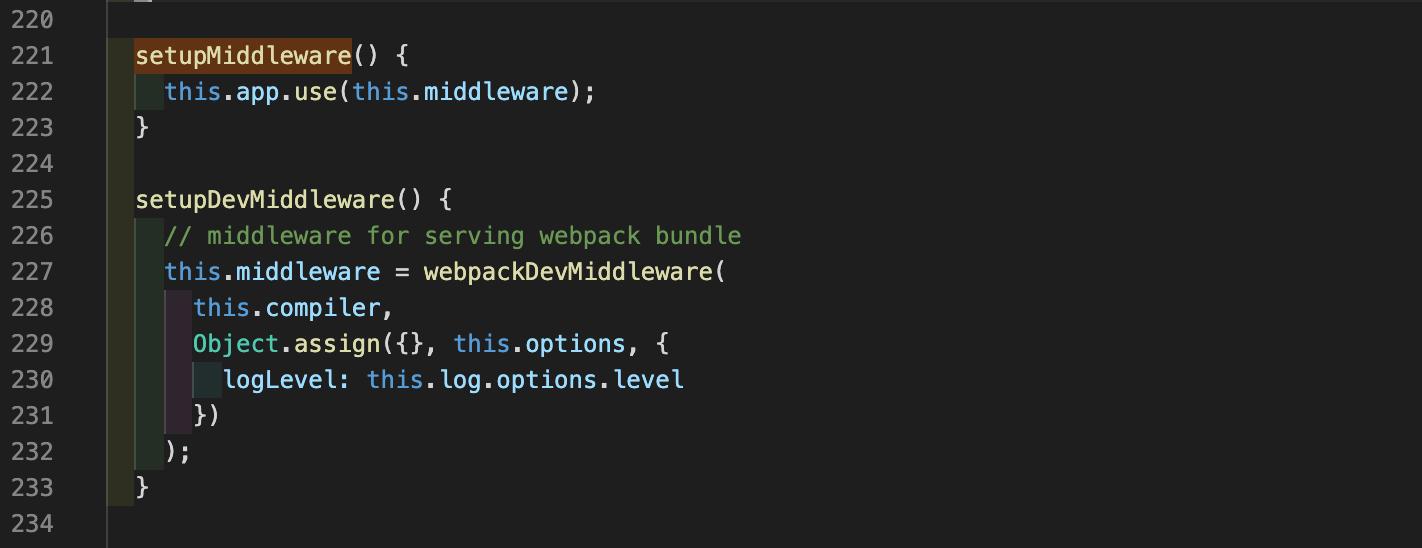 setupMiddleware函数